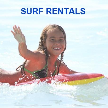 Surf Rentals (per kid)